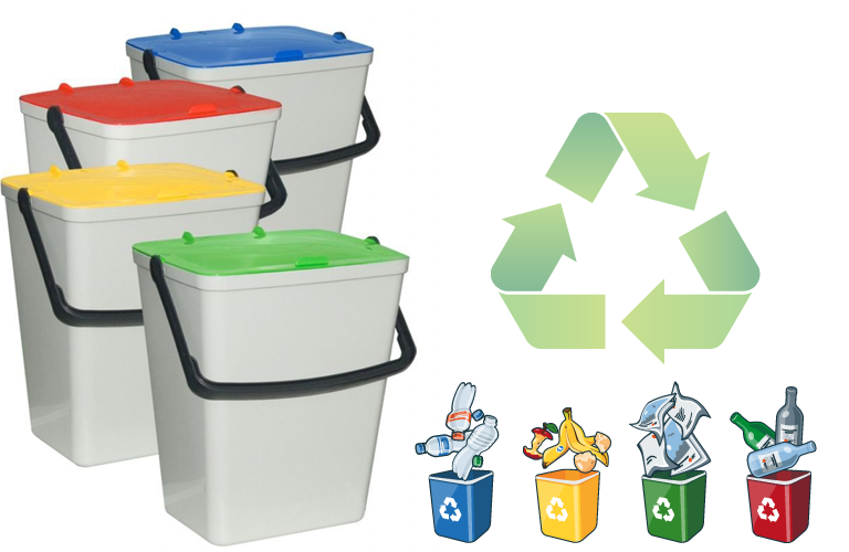 Recyclingeimer-Set