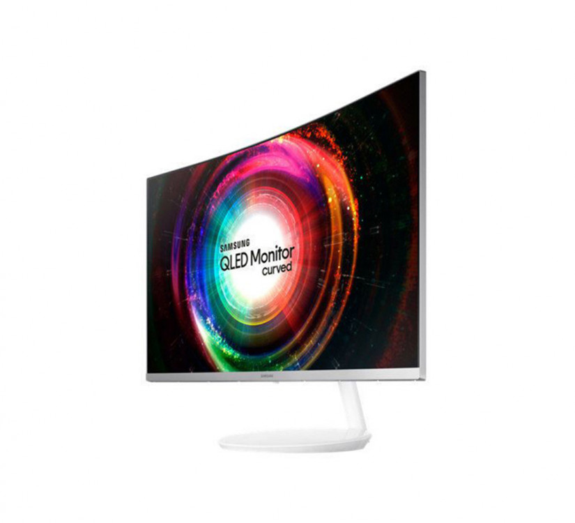 32-Zoll-QLED Monitor