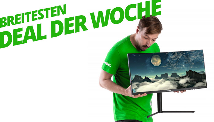 29-Zoll-Curved-Gaming-Monitor von LC-Power
