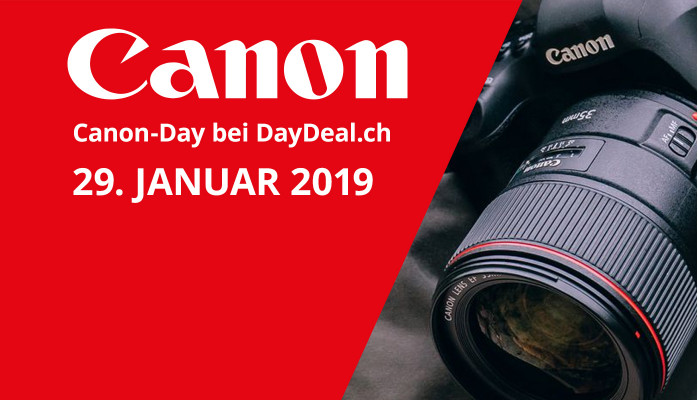 Canon-Day bei DayDeal.ch